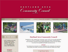 Tablet Preview of hartlandcommunitycouncil.org